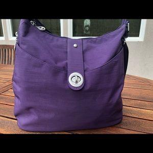 Purple Baggallini Shoulder Bag